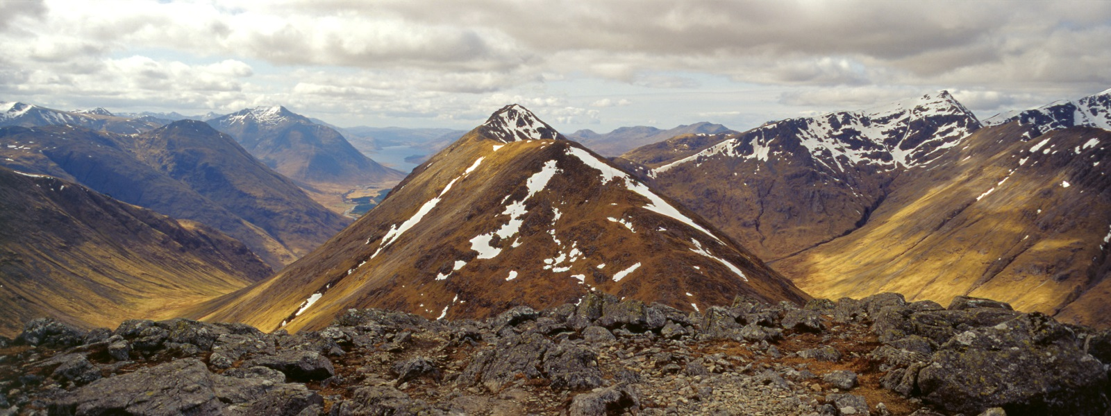 Stob Dubh from Stob Coire Raineach, Glencoe National Nature Reserve